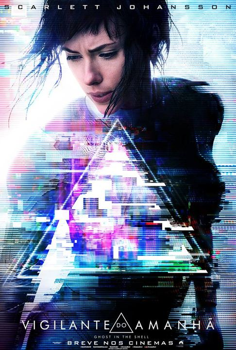 A Vigilante do Amanhã: Ghost in the Shell : Poster