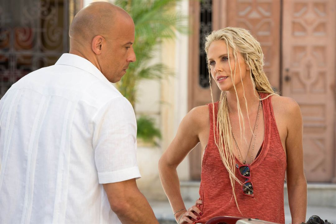 Velozes & Furiosos 8 : Foto Charlize Theron, Vin Diesel