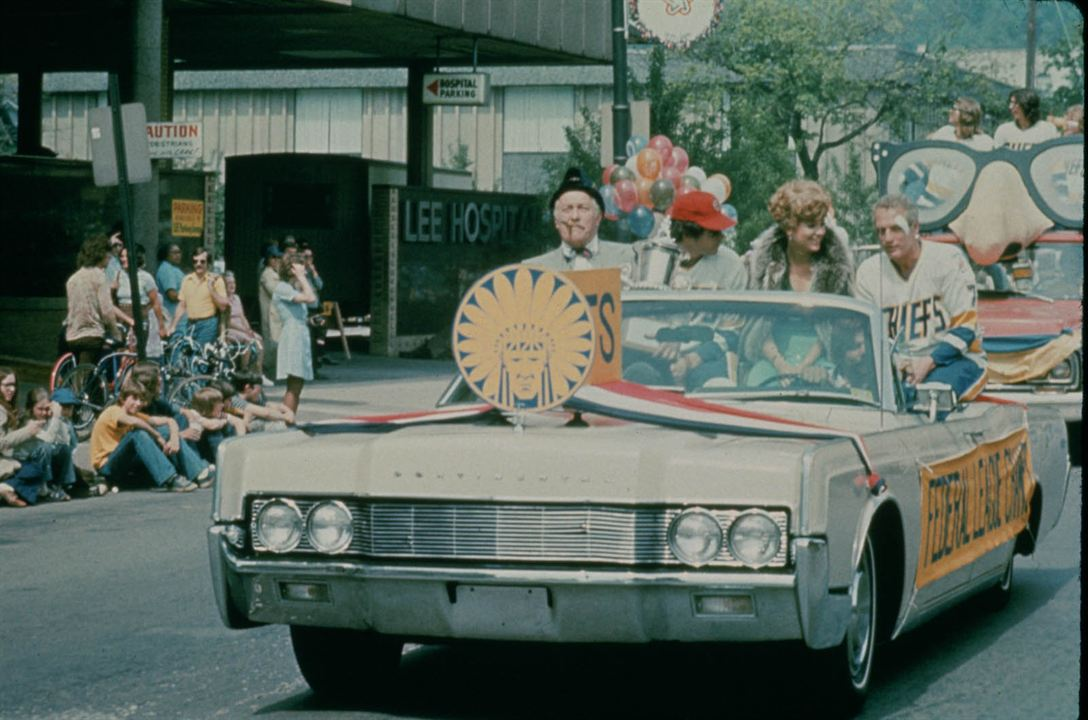 Slap Shot : Foto Lindsay Crouse, Paul Newman, Strother Martin