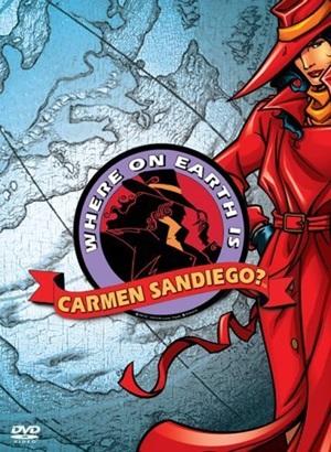 Em que lugar da Terra está Carmen Sandiego? : Poster