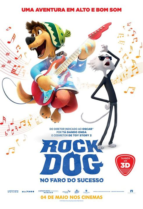 Rock Dog - No Faro do Sucesso : Poster
