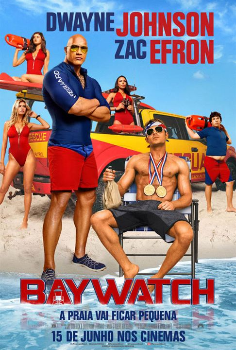 Baywatch : Poster