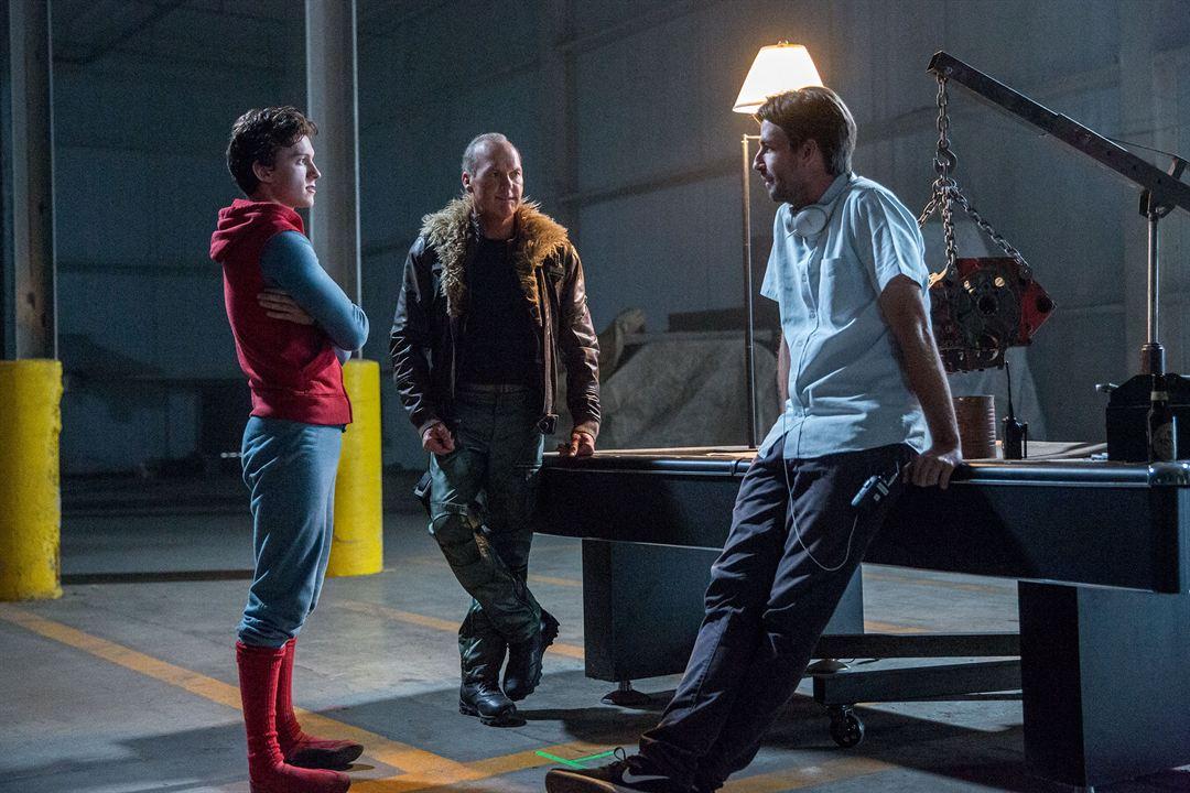 Homem-Aranha: De Volta ao Lar : Foto Jon Watts, Michael Keaton, Tom Holland