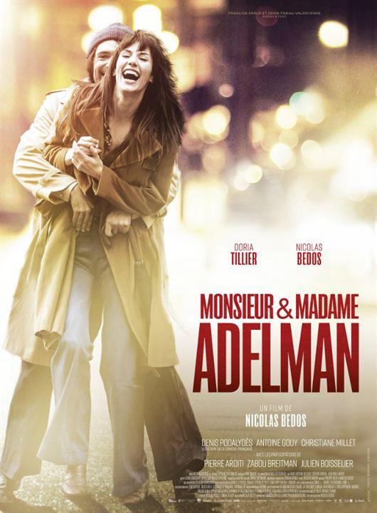 Monsieur & Madame Adelman : Poster