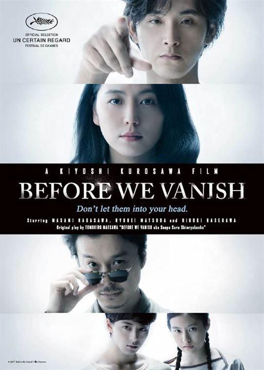 Antes que Tudo Desapareça : Poster