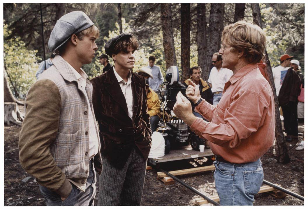 Nada é para Sempre : Foto Brad Pitt, Craig Sheffer, Robert Redford