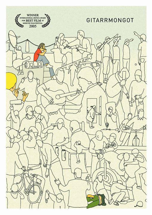 Gitarrmongot : Poster