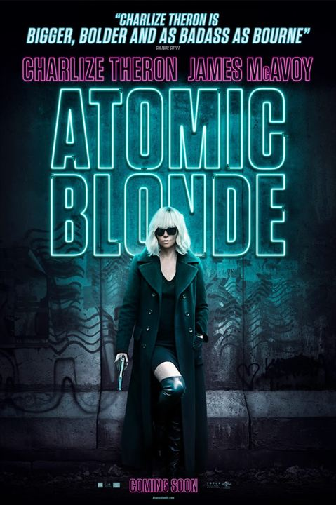 Atômica : Poster