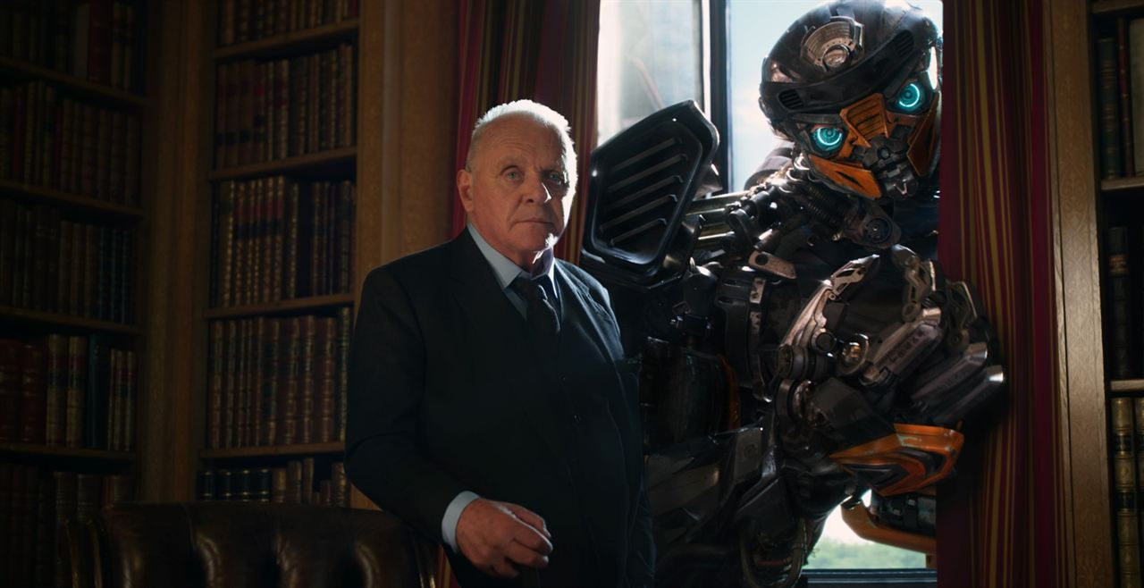 Transformers: O Último Cavaleiro : Foto Anthony Hopkins