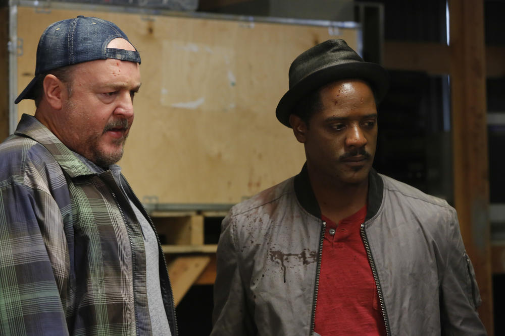 Foto Blair Underwood, Brent Sexton