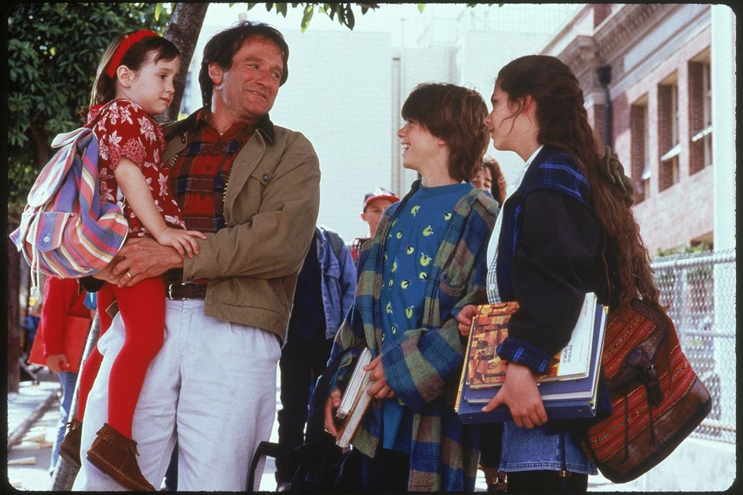 Uma Babá Quase Perfeita : Foto Lisa Jakub, Mara Wilson, Matthew Lawrence, Robin Williams