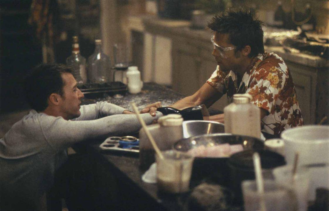 Clube da Luta : Foto Brad Pitt, Edward Norton