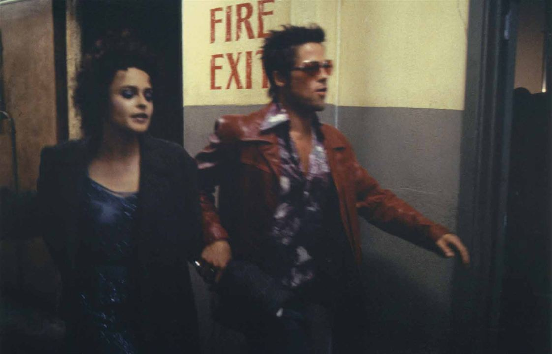 Clube da Luta : Foto Brad Pitt, Helena Bonham Carter