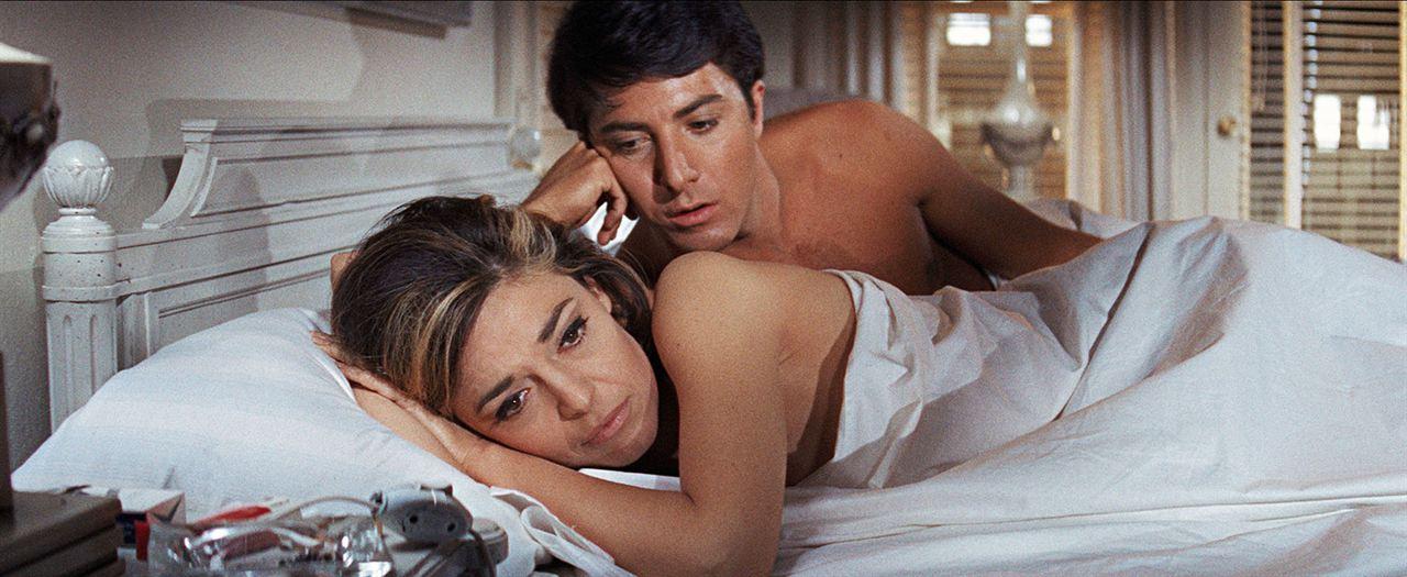 A Primeira Noite de um Homem : Foto Dustin Hoffman, Katharine Ross