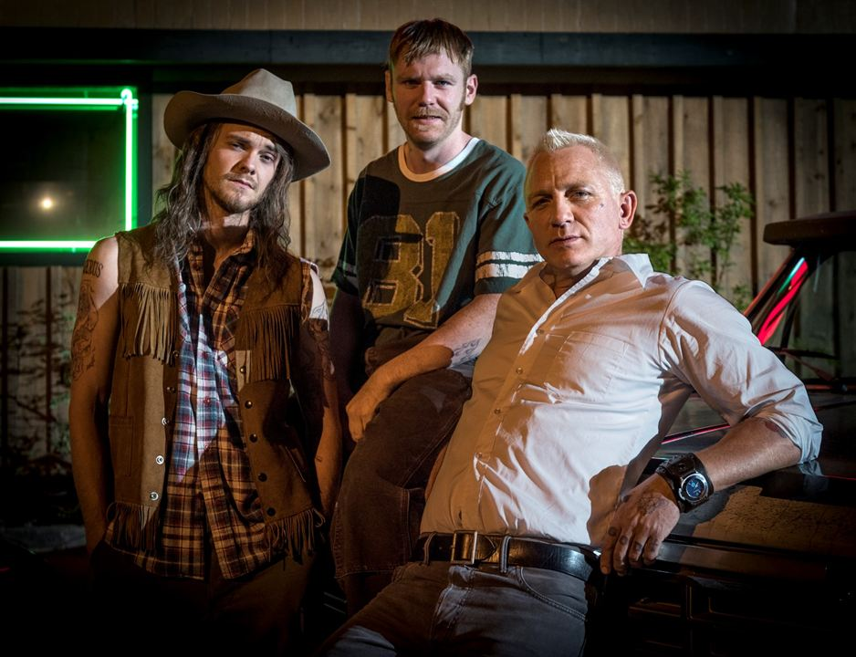 Logan Lucky - Roubo em Família : Foto Brian Gleeson, Daniel Craig, Jack Quaid