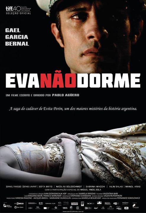 Eva Não Dorme : Poster