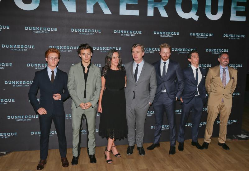 Dunkirk : Vignette (magazine) Christopher Nolan, Fionn Whitehead, Harry Styles, Jack Lowden, Tom Glynn-Carney