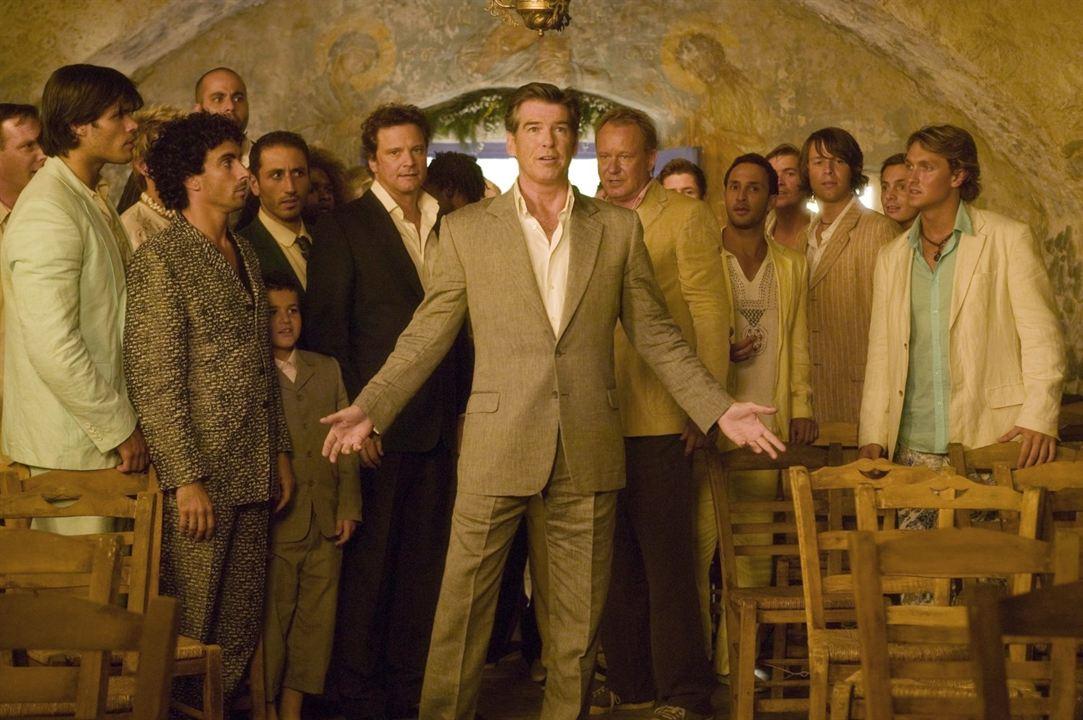 Mamma Mia! - O Filme : Foto Colin Firth, Pierce Brosnan, Stellan Skarsgård