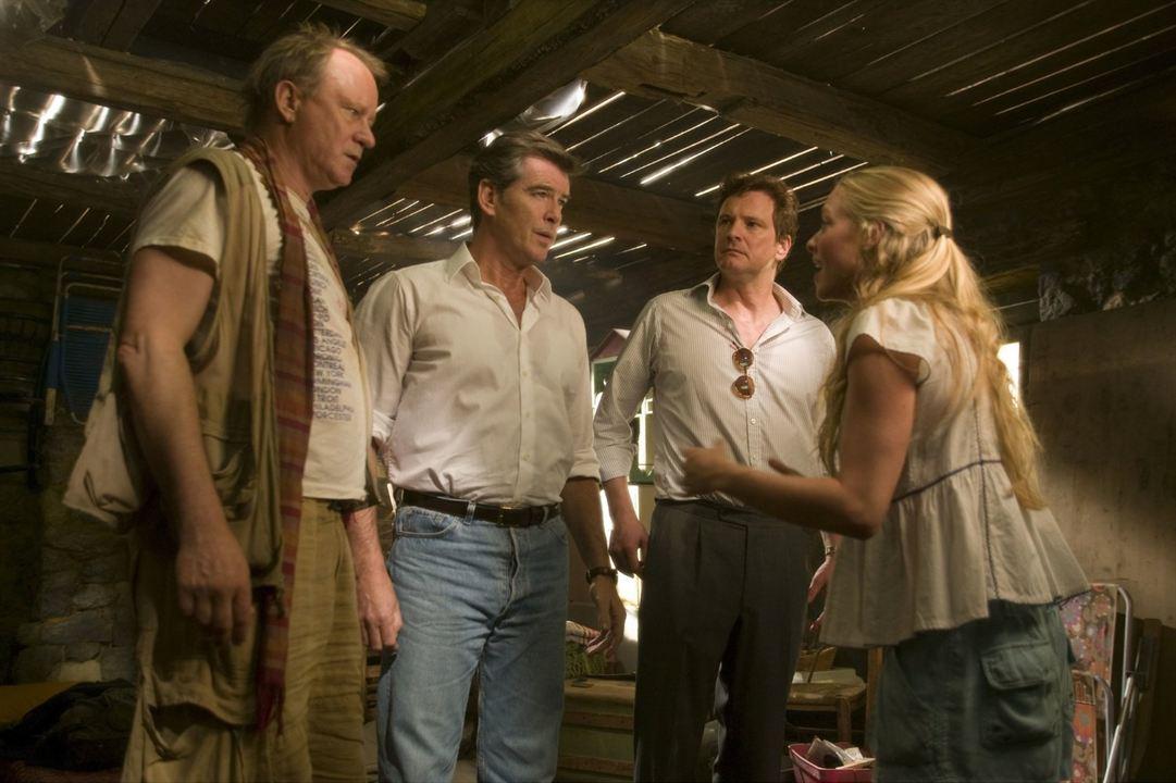 Mamma Mia! - O Filme : Foto Amanda Seyfried, Colin Firth, Pierce Brosnan, Stellan Skarsgård