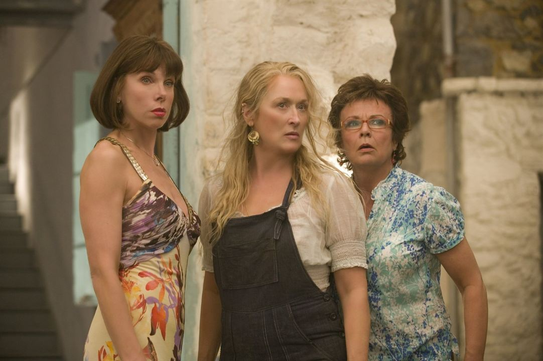 Mamma Mia! - O Filme : Foto Christine Baranski, Julie Walters, Meryl Streep