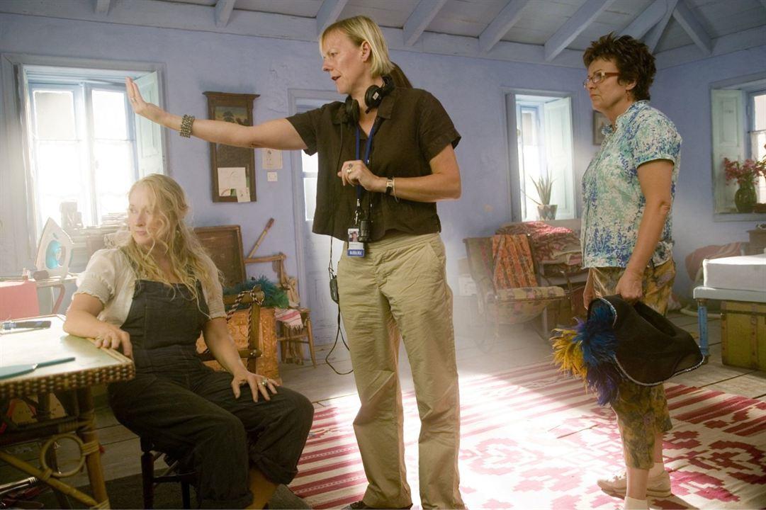 Mamma Mia! - O Filme : Foto Julie Walters, Meryl Streep, Phyllida Lloyd