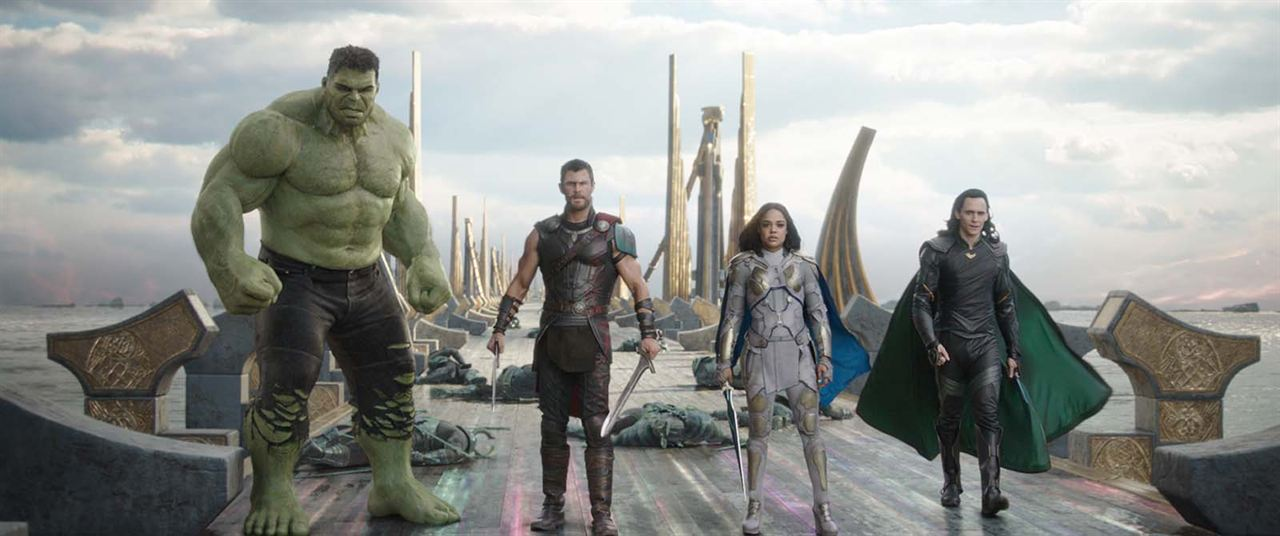 Thor: Ragnarok : Foto Chris Hemsworth, Tessa Thompson, Tom Hiddleston