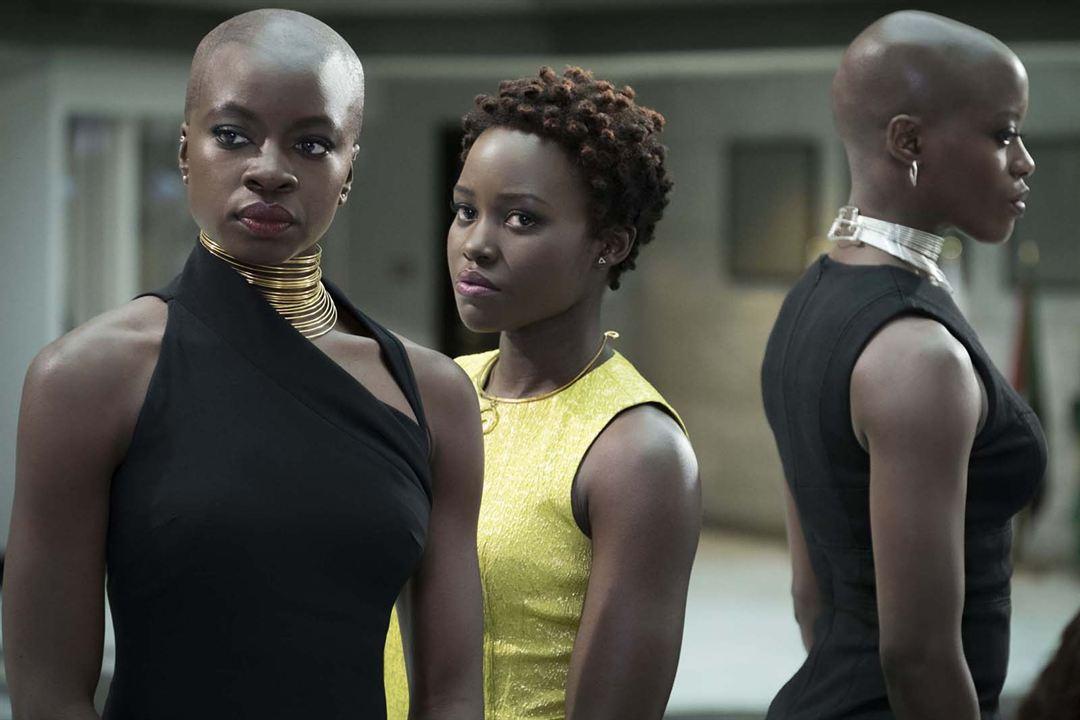 Pantera Negra : Foto Danai Gurira, Lupita Nyong'o