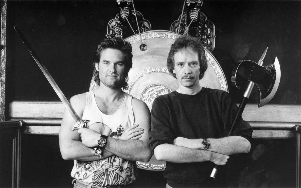 Os Aventureiros do Bairro Proibido : Foto John Carpenter, Kurt Russell