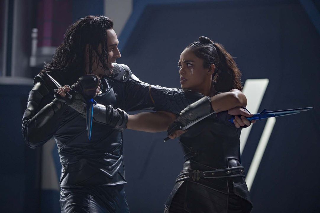 Thor: Ragnarok : Foto Tessa Thompson, Tom Hiddleston