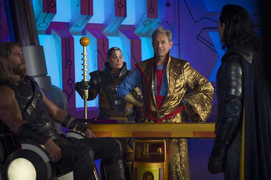 Thor: Ragnarok : Foto Chris Hemsworth, Jeff Goldblum, Rachel House