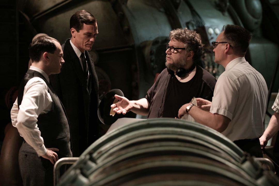 A Forma da Água : Foto Guillermo del Toro, Michael Shannon