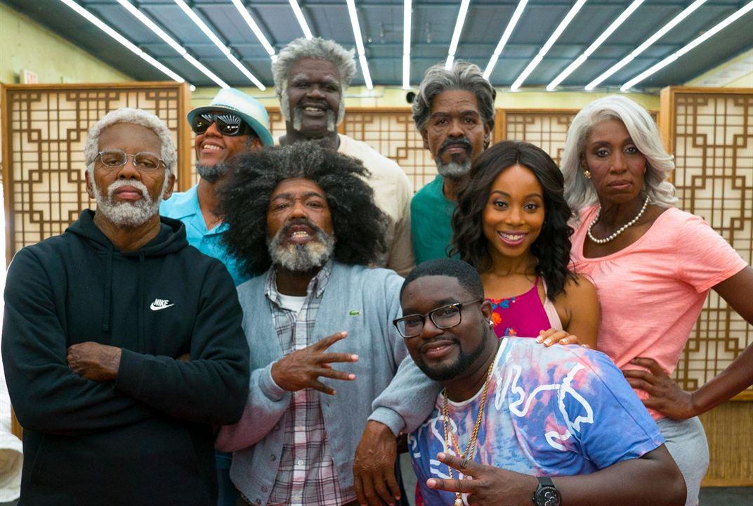 Tio Drew : Foto Chris Webber, Erica Ash, Kyrie Irving, Lil Rel Howery, Lisa Leslie