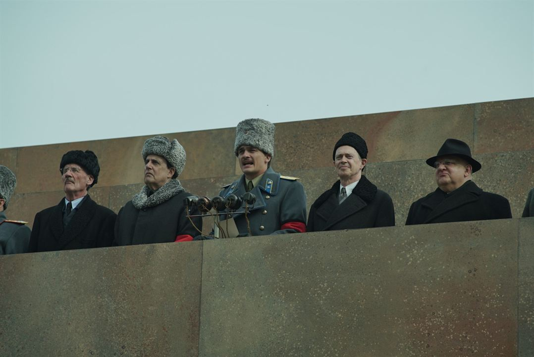 A Morte de Stalin : Foto Jeffrey Tambor, Michael Palin, Rupert Friend, Simon Russell Beale, Steve Buscemi