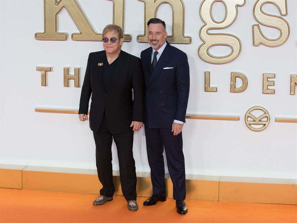 Kingsman: O Círculo Dourado : Vignette (magazine) Elton John