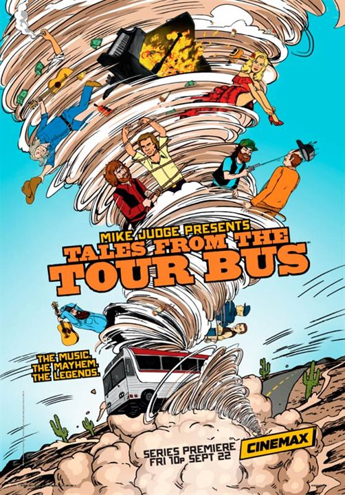 Mike Judge Presents: Tales From the Tour Bus : Poster