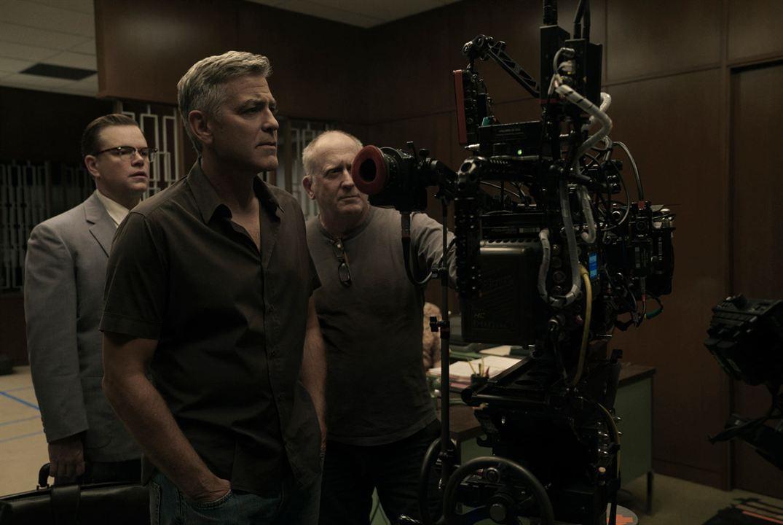 Foto George Clooney, Matt Damon