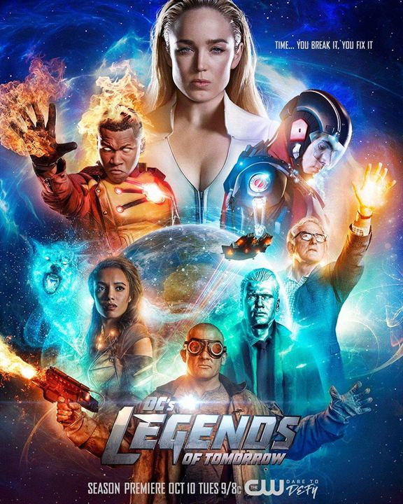 Poster Brandon Routh, Caity Lotz, Dominic Purcell, Franz Drameh, Maisie Richardson-Sellers