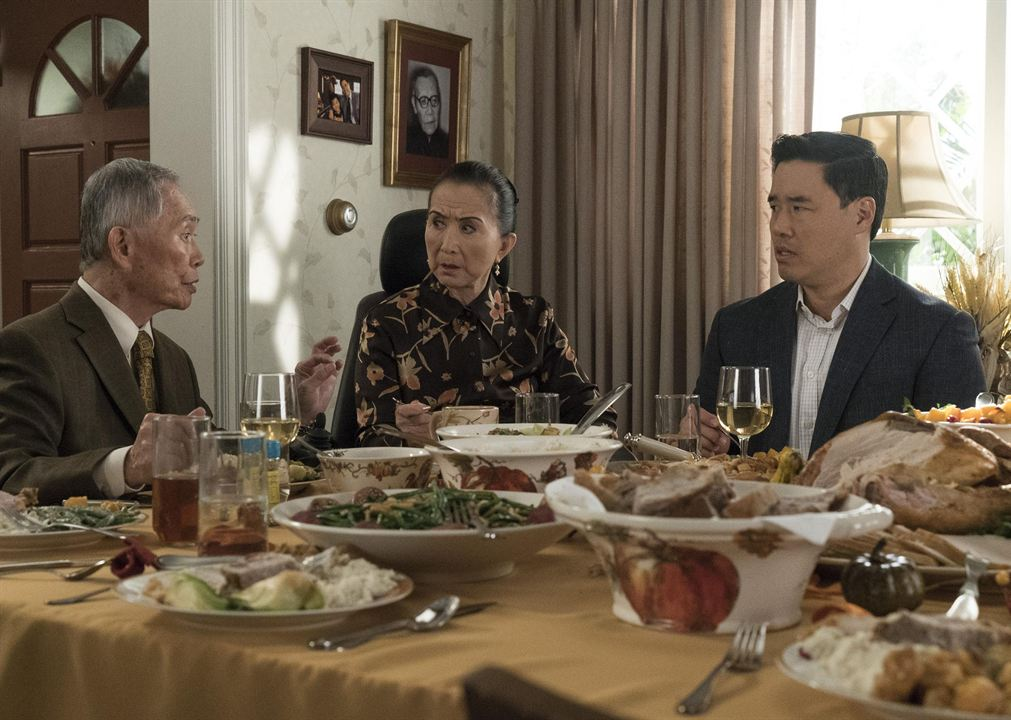 Foto George Takei, Lucille Soong, Randall Park