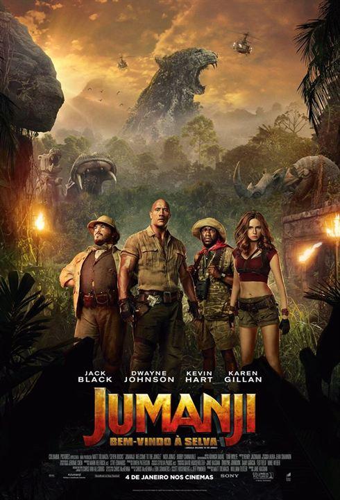Jumanji: Bem-Vindo à Selva : Poster