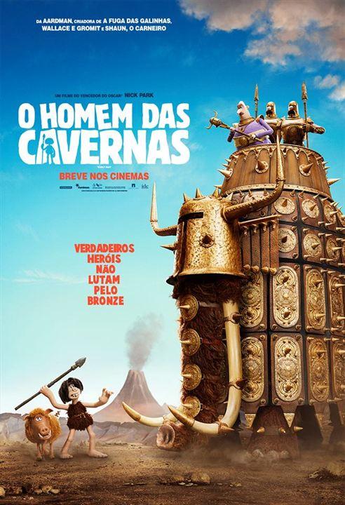 O Homem das Cavernas : Poster