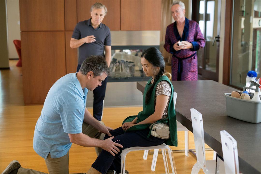 Pequena Grande Vida : Foto Christoph Waltz, Hong Chau, Matt Damon, Udo Kier