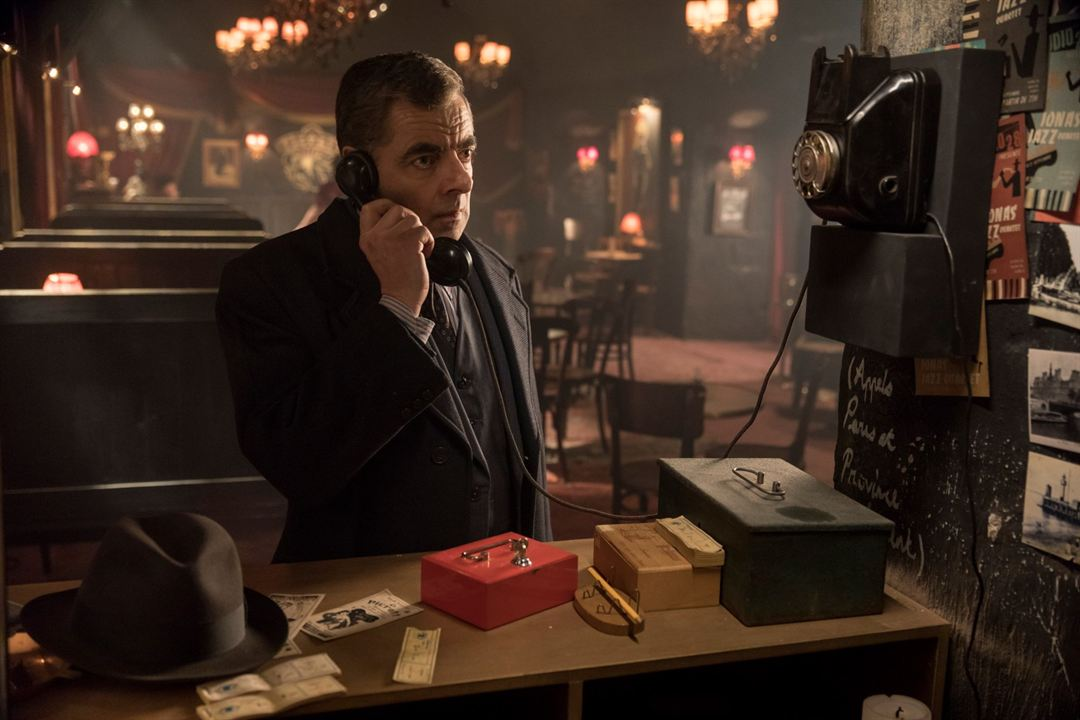 Maigret In Montmartre : Foto Rowan Atkinson
