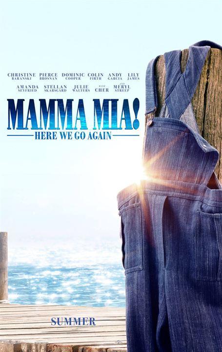 Mamma Mia! Lá Vamos Nós de Novo : Poster