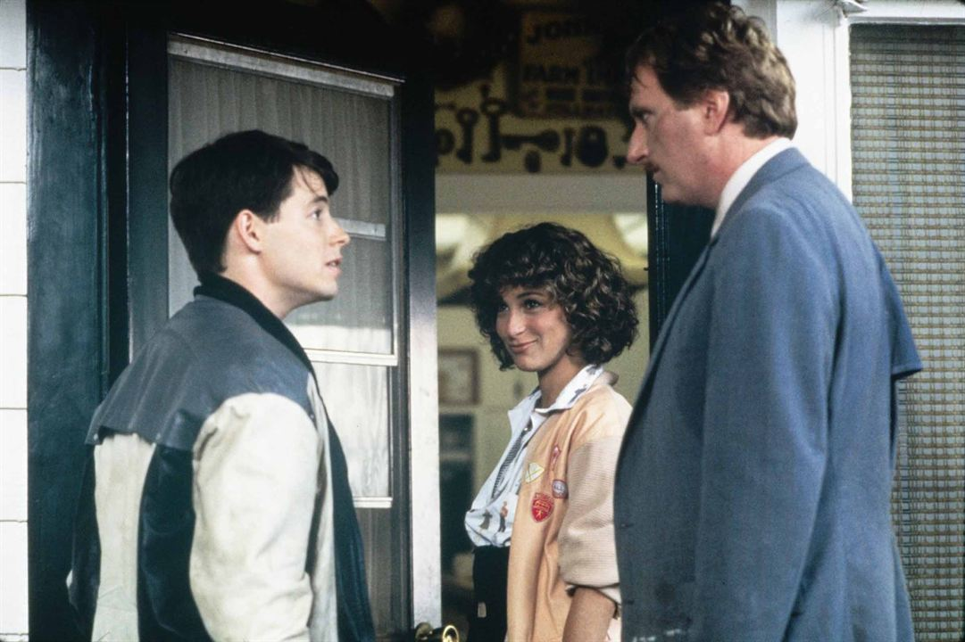 Curtindo a Vida Adoidado : Foto Jeffrey Jones, Jennifer Grey, Matthew Broderick