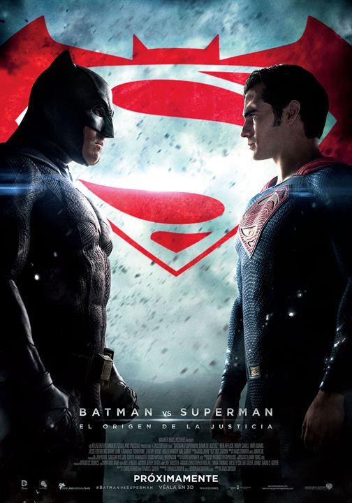 Batman Vs Superman - A Origem Da Justiça : Poster
