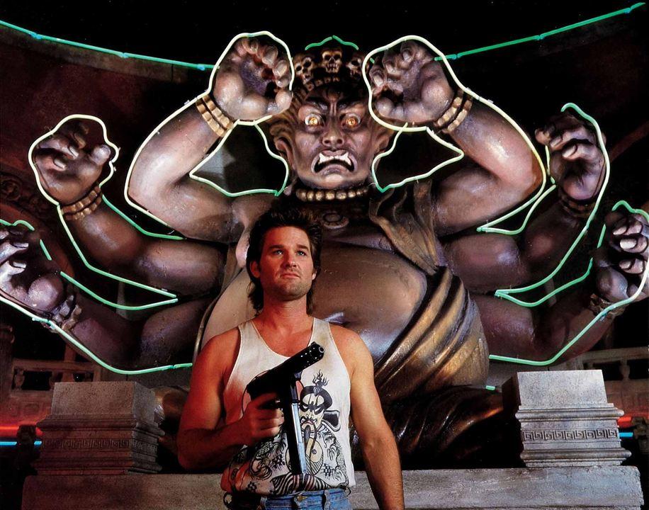 Os Aventureiros do Bairro Proibido : Foto Kurt Russell