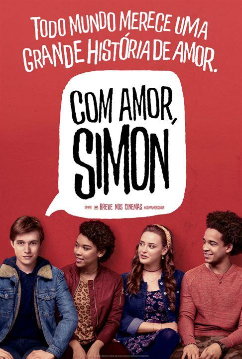 Com Amor, Simon : Poster
