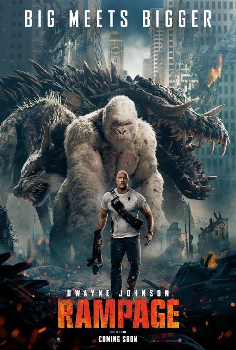 Rampage - Destruição Total : Poster