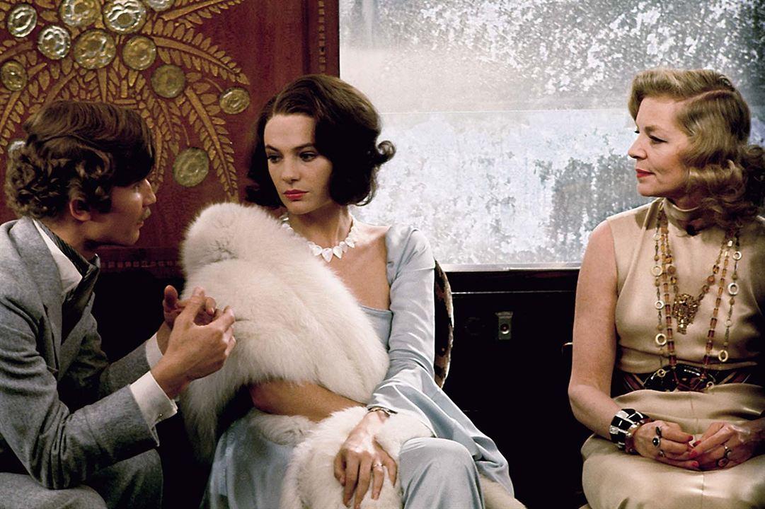 Assassinato no Expresso Oriente: Jacqueline Bisset, Lauren Bacall