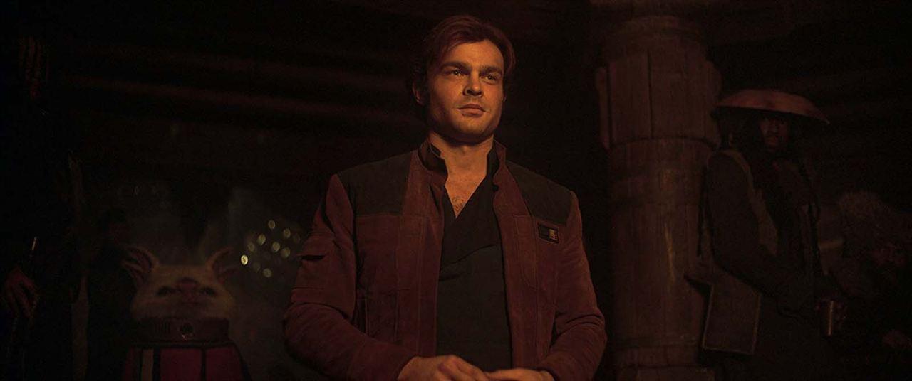 Han Solo: Uma História Star Wars : Foto Alden Ehrenreich